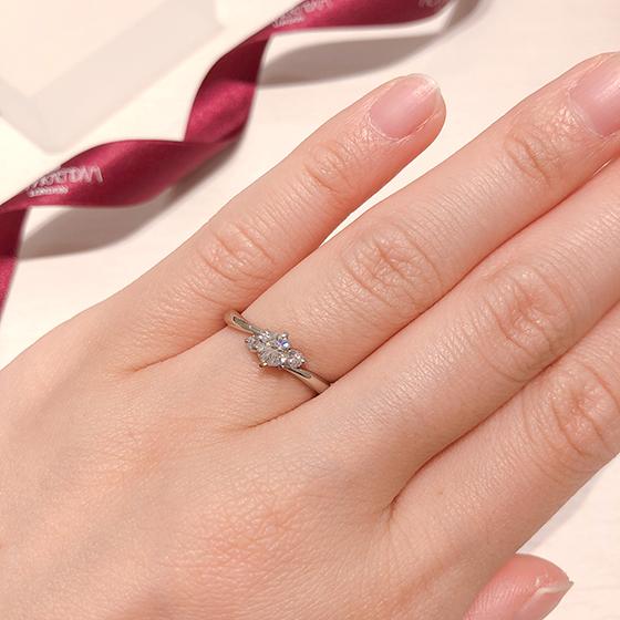 美しさと満足をお届けすること「最高のダイヤモンド」を使用し、「最高のデザイン」を採用し、「最高の製品」を仕立てること。