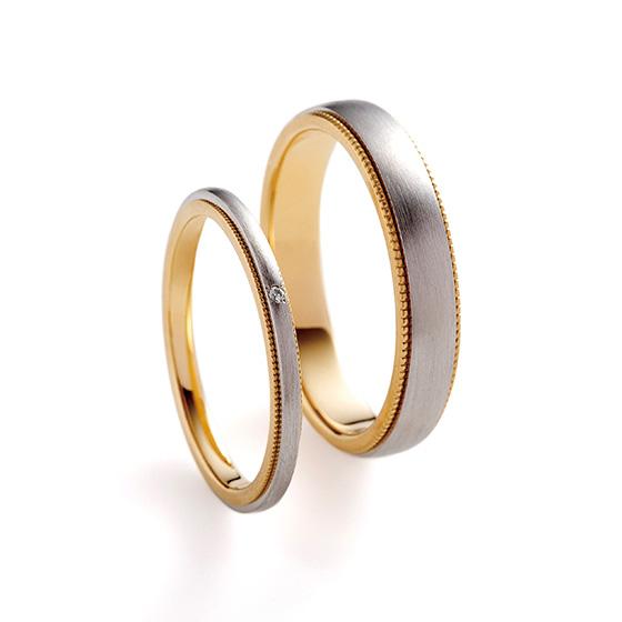 lady'sは華奢なつくりの結婚指輪。aiuolaの結婚指輪はお好きなボリューム感でおつくりができます。