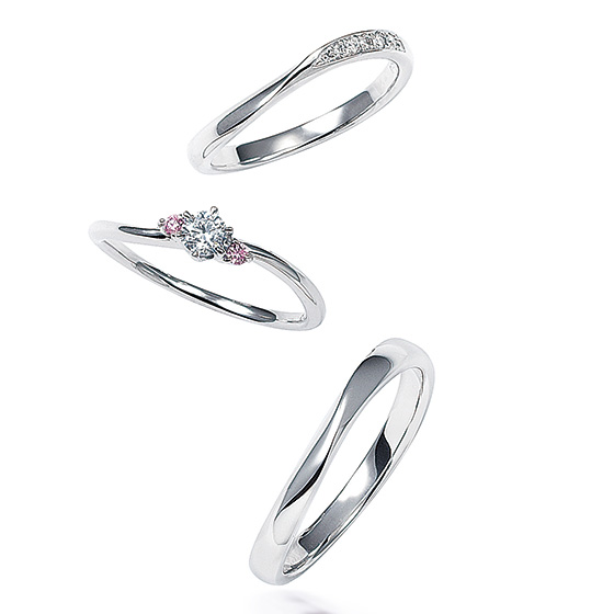 きらきらときらめくダイヤモンドがふたりの願いを叶える、ふたりだけの流れ星。