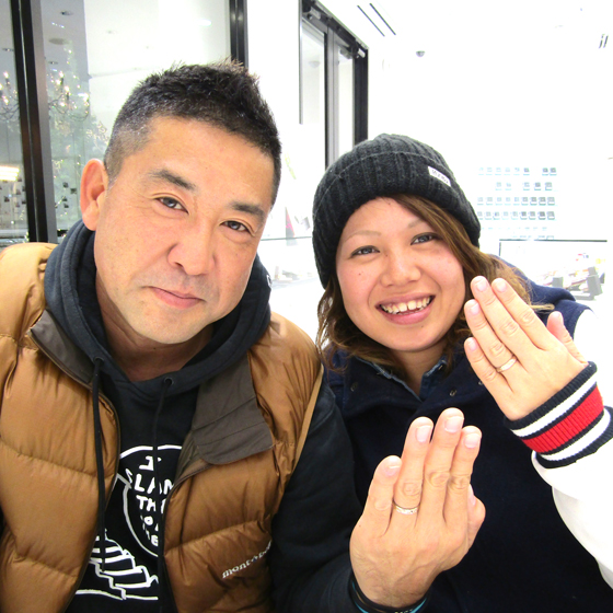 >温かく包んでくれるような永田様と、とってもキュートな美鈴様♡お似合いのカップル様です!