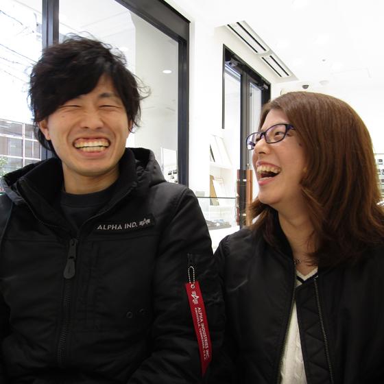 >おふたりの笑顔にとても癒されました♡