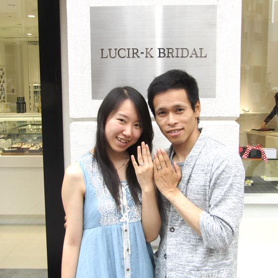 >こだわりの詰まったセットリング(婚約指輪・結婚指輪)を身に着けて末永くお幸せに♡