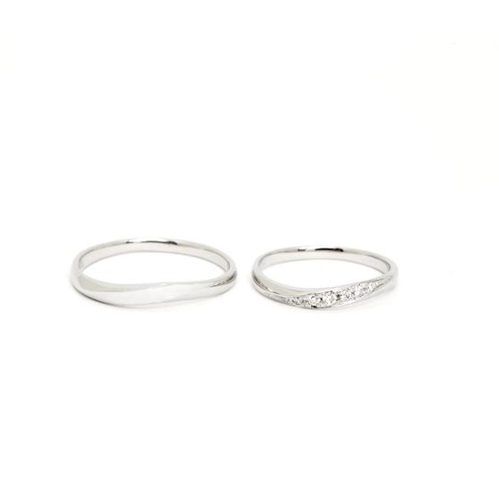>デザインや着け心地にこだわった結婚指輪。お2人の薬指で永遠に輝きます✨