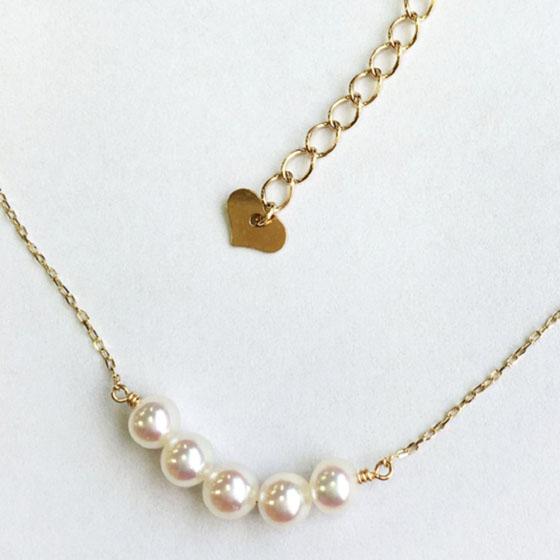 アコヤ真珠ネックレス 3.5-4.0mm