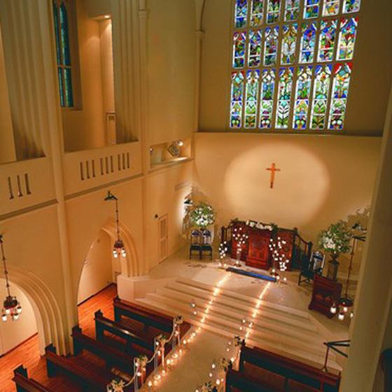 >サプライズプロポーズのプランも応援させて頂きました!県下最大級の大聖堂で感動のプロポーズ♡