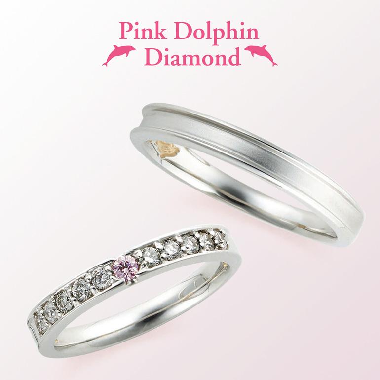 ダイヤモンドが華やかでボリューム感も◎ゴージャスタイプ。