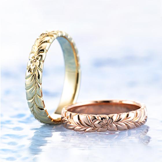 幸せの花 ティアレの花言葉は「私はとても幸せです」幸せを表している結婚指輪(マリッジリング)