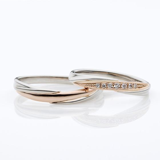 >程よい太さ・程よいお色・ダイヤは多めのとっても人気なデザインです!