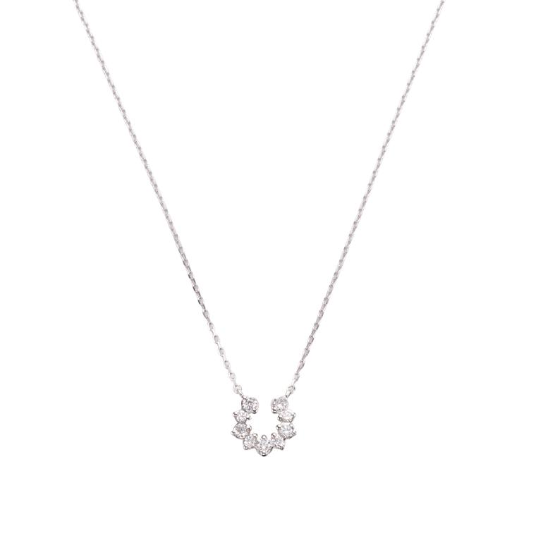 小粒のダイヤモンドでありながらもボリュームのしっかりとしたデザインが特徴!