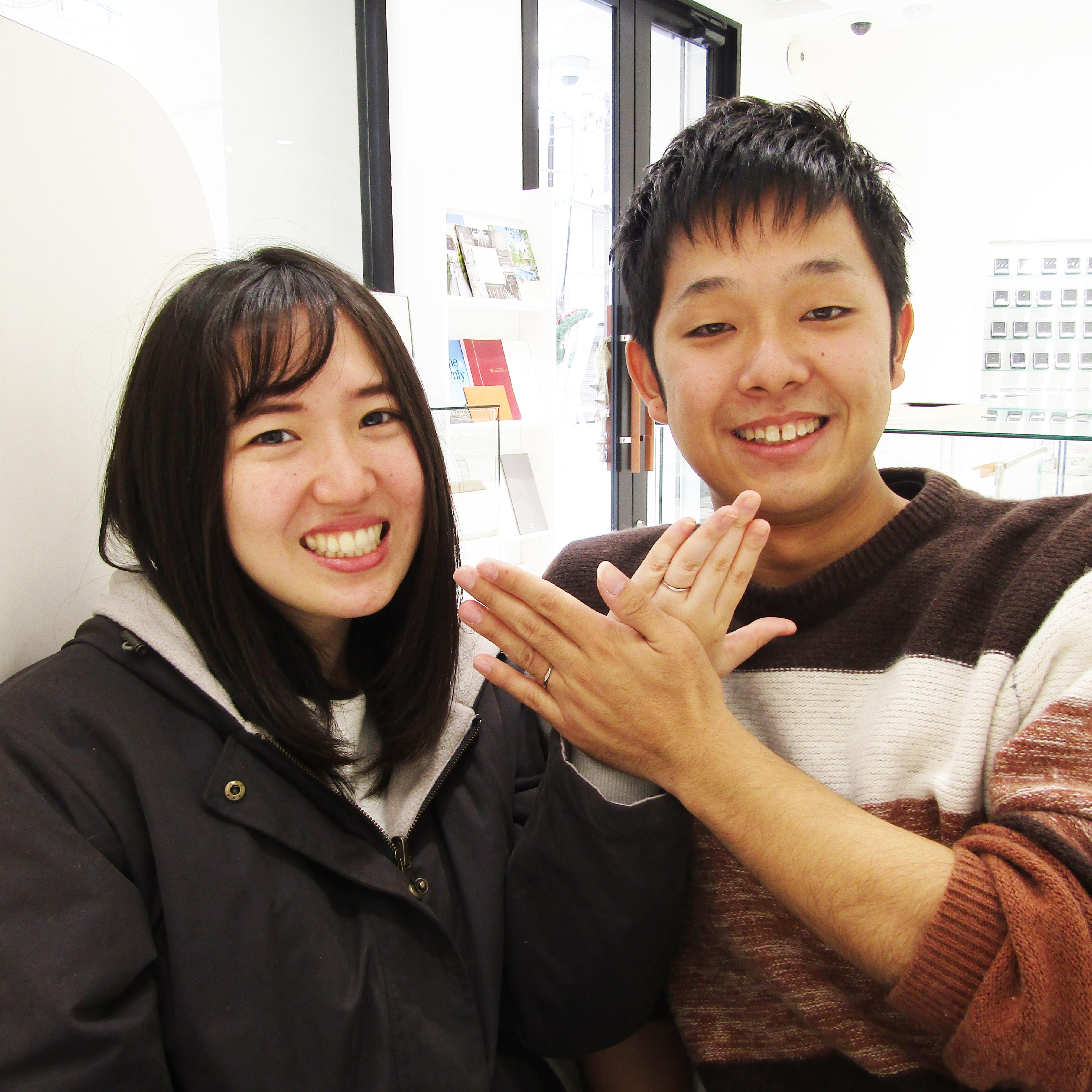 >仲良しで楽しいお二人に元気をもらえます(^^)