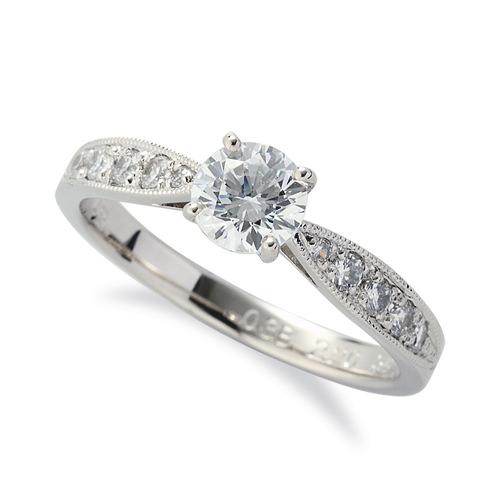 華やかなダイヤモンドの輝きが眩しい婚約指輪。