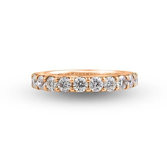 1.0ctのダイヤモンドは、存在感があります。婚約指輪(エンゲージリング)としてもおすすめです。